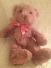 "Russ 10"" Teddy Bear Hugs Plush Stuffed Toy Ribbon Around Neck"