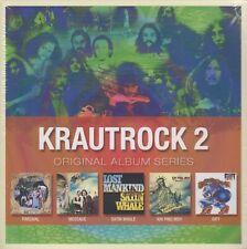 Krautrock Volume 2 / Kin Ping Meh, Parzival, Message, Gift, u.a. (5 CDs,NEW)