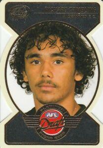 2005 AFL Dynasty Draft Pick Platinum Die Cut PDP4 Richard Tambling Richmond 28