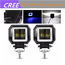 """2pcs 40W 3"""" inch LED Spot Work Driving Light Offroad Car Motorcycle SUV ATV Jeep"""
