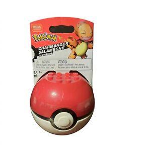 Mega Construx Pokemon CHARMANDER Figure Builder with Pokeball BNIB