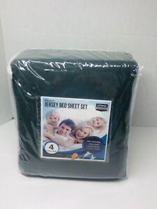 Bed Sheet Set (4 Pcs) 1 Flat Sheet 1 Fitted Sheet 2 Pillow Cases Utopia Bedding