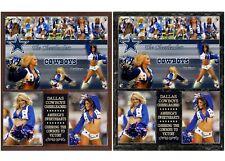 Dallas Cowboys Cheerleaders Photo Plaque