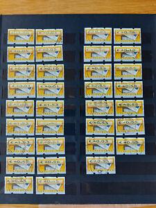 Automatenmarken - ATM Bund gestempelt- Ausgabe von 2002 - schönes Konolut / Fe