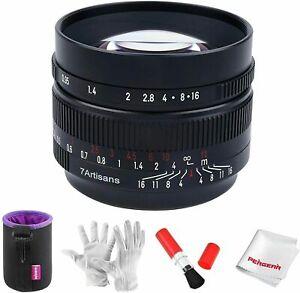 7artisans 50mm F0.95 Portrait Manual Lens APS-C Sony E-mount NEX-3 A5000+Gift