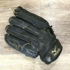 MIZUNO Prospect Full Grain Leather Black Left Hand Baseball Glove Youth 11.75