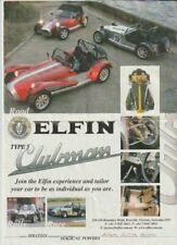 2004 ELFIN CLUBMAN TYPE 3 Australian 2p Brochure Fair Condition