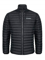 Berghaus Men's Seral Synthetic Insulated Jacket, Black/Black, Small