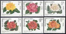 Bulgaria - 1994 MNH set of 6 depicting roses #3845-50 $ 6.95 cv Lot #145