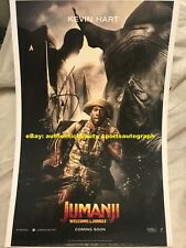 KEVIN HART JUMANJI WELCOME TO THE JUNGLE MOVIE FRIDGE/MOUSE SIGNED 12x18 REPRINT