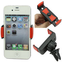 Universal Car Air Vent Mount Cradle Holder Stand For Smart Mobile Cell Phone WL