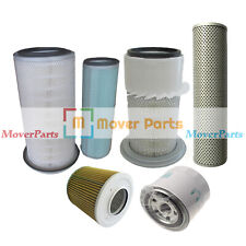 For Komatsu PC200-3 Engine 6D105 (Air ,Fuel ,Oil ,Hydraulic) Filter Service