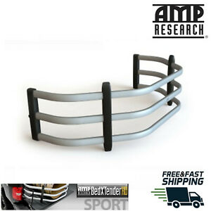 AMP Research® Silver Aluminum Bed Xtender HD Sport Fits 2019-2020 Ram 1500