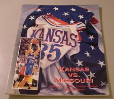 KU Jayhawk Basketball Program - Missouri Feb 17, 1997