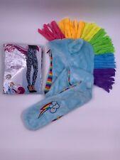 RAINBOW DASH My Little Pony Leggings & Hat w/Hand Pockets Women's Adult Costume