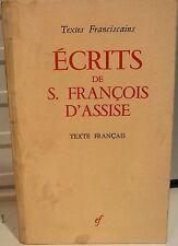 Les écrits de Saint François d' Assise - FREE Shipping*