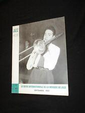 MAGAZINE JAZZ HOT N° 58  Septembre 1951 -  BENNY VASSEUR BIX BEIDERBECKE
