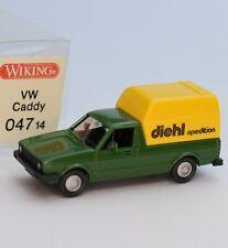 """Wiking 047 14 VW Volkswagen Caddy """" Spedition diehl """", OVP, 1:87, G2/10"""