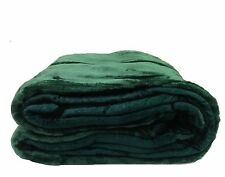 Oasis Soft Reversible Heavy Double Sided Mink Blanket Queen & Full Size 7 Colors