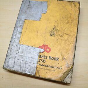 CAT DJB Caterpillar D350 Dump Truck Parts Book Manual Catalog rock haul quarry