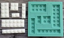 Silicone Mold Lego Mould Cake Baking Chocolate Candy Decorating ARTMD0316
