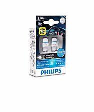 Philips LED W5W T10 Xtreme Vision 360 ° 8000K 12 127998000KX2 w2.1x9.5d NEW