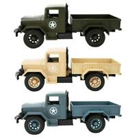 1:20 Scale Mini Pull Back Car Simulation Military Jeeps Model Toy Kids Gift