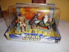 Star Wars Jedi High Council Scene 1 of 2-Mace Windu,Oppo Rancisis,Even Piel 2003