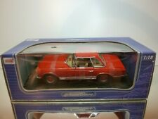 ANSON 30380 MERCEDES BENZ 280 SL - RED 1:18 - EXCELLENT CONDITION IN BOX