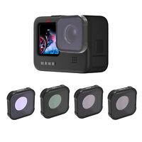 Camera Filter UV CPL ND4-64 Star Lens Filters Set for GOPRO Hero9 Action Camera
