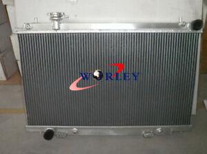 Aluminum Radiator For Nissan Fairlady 350 Z 350Z 2003 2004 2005 2006 Z33 AT/MT