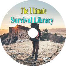 Ultimate Survival Library 72 Manuals Books CD Sniper Training Combat Medicine