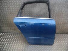 2006 AUDI A4 B7 2.0 TDI O/S/R DRIVER SIDE REAR DOOR COMPLETE IN BLUE