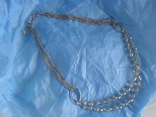 """Vintage Necklace""""Bonita""""App.25 inch&3 inch extender""""with gift box""""6 strand chain"""