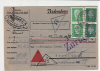 germany 1932 stamps card ref 20995
