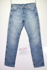 Wrangler 2 RRB (Cod. Y1295) tg47 W33 L34 jeans vita alta usato vintage skate