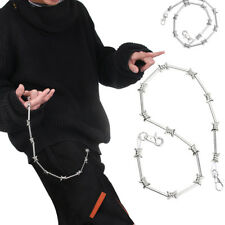 New Metal Rock Pants Key-chain Wallet Chain Belt Hip Hop Jewelry Key Clip