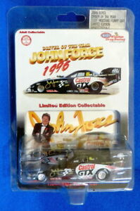 John Force 1996 Castrol Mustang Funny Car 1:64 Action NHRA Driver of the Year
