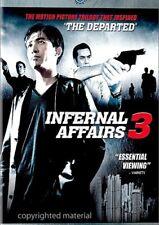 Infernal Affairs 3 (DVD, 2007) New, Cut UPC