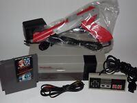 Nintendo NES System Console NEW 72 PIN with Super Mario Bros/ Duck Hunt Zapp Gun