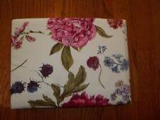 NIP Meradiso Reversible Ivory/Pink/Green Floral King Duvet Cover & Shams 3pc
