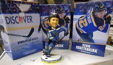 KEVIN SHATTENKIRK St Louis Blues BOBBLEHEAD Doll SGA PROMO 10/29/15 5000436