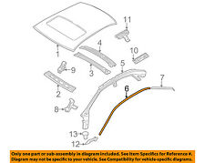 VOLVO OEM 01-09 S60 Roof-Drip Molding Right 39992616