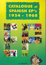 CATALOGUE OF SPANISH EP 's FROM 1954 TO 1968 THE BEATLES GENE VINCENT BEACH BOYS