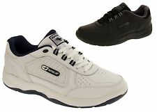 Mens GOLA WIDE FIT Leather Lace Up Sports Trainers Size 7 8 9 10 11 12 13 14 15