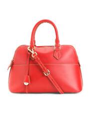 Boldrini Selleria Italy Bugatti Leather Bag – Red – New