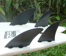 (Controller Quad Style) New FCS Compatible Fibreglass Surf Fins from Indo Fins!!