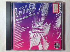 CD NIGHT RHYTHMS 2 FPI PROJECT ROZALLA BLACK MACHINE DE LA SOUL UTAH SAINTS RARO