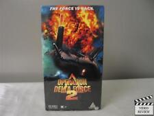 Operation Delta Force 2 VHS Michael McGrady, Dale Dye, Todd Jensen; Yossi Wein