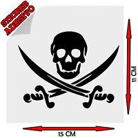 Sticker Adesivo Decal The Goonies Teschio Skull Pirate Pirata Tuning Auto Moto